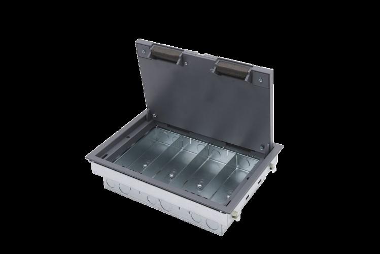 4 compartment floor box meze blog for 4 compartment floor box